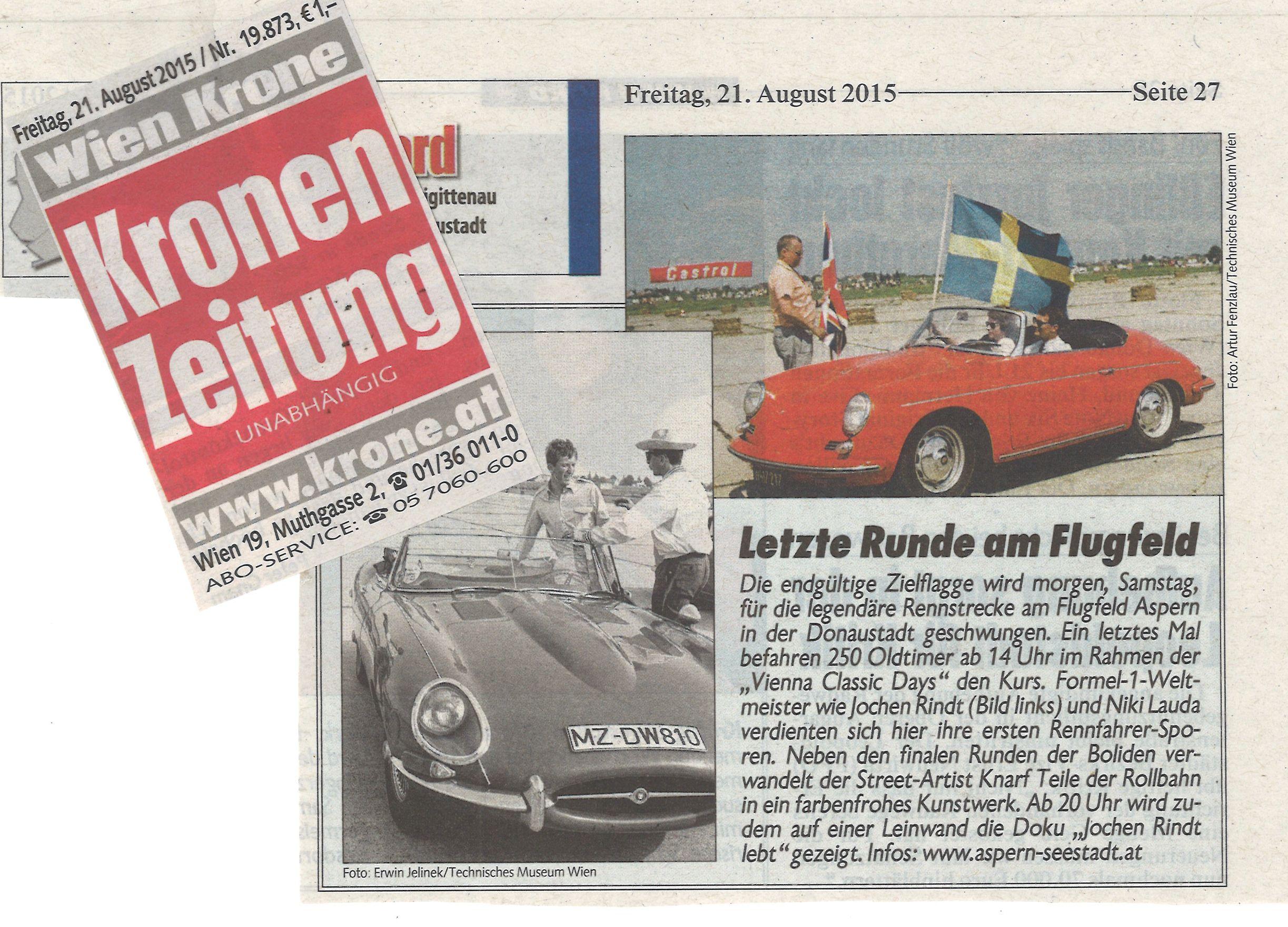 Vienna Classic Days - Zeitreise...in das Gute der Alten Zeit
